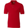 U of W W Solid Lisle Polo