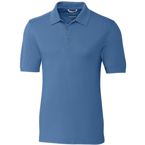 Aqua Cotton Polo