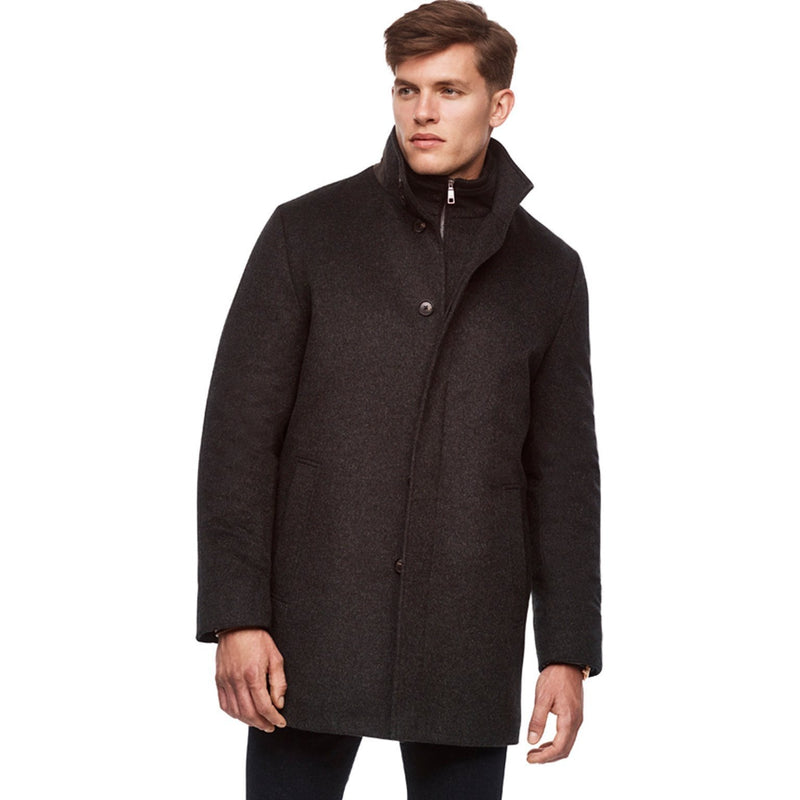 Mont-Royal Versatile Cashmere Wool Overcoat