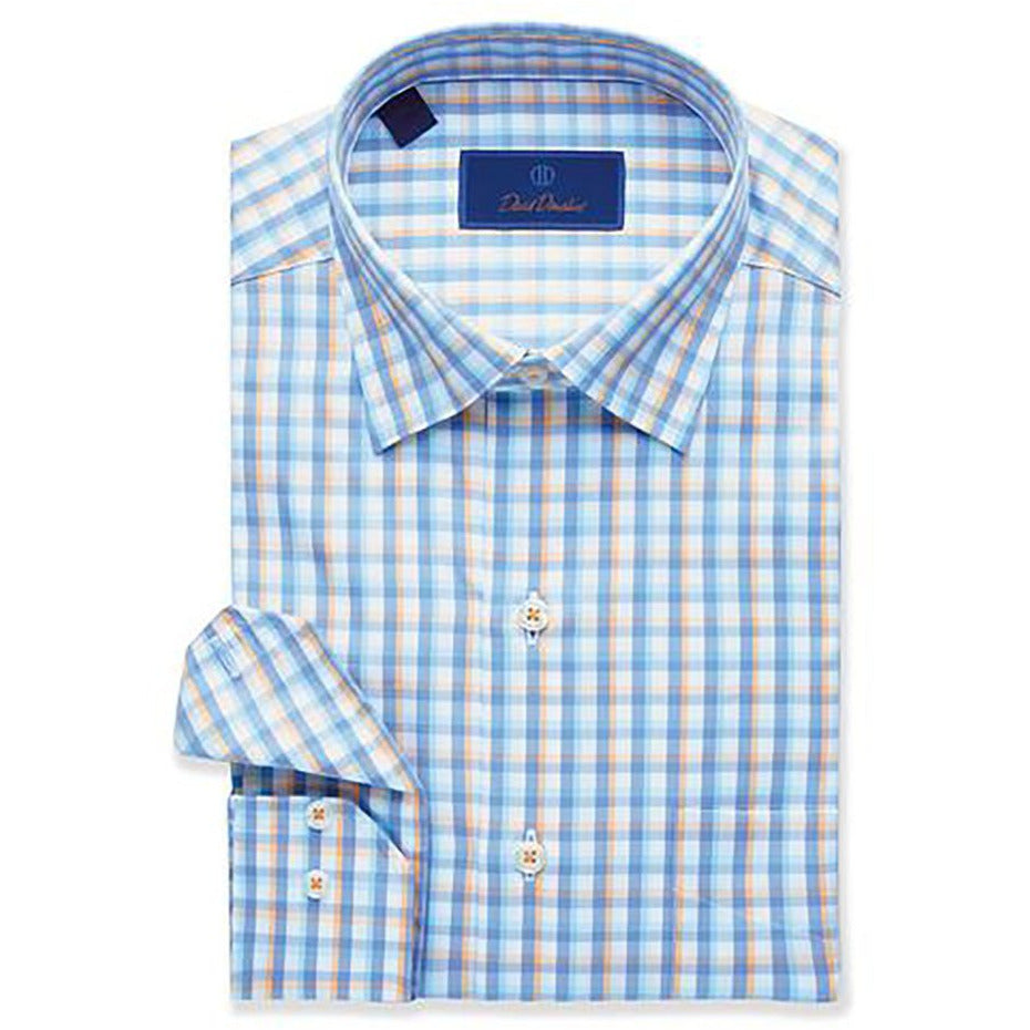 FINAL SALE - David Donahue Bold Check Sport Shirt