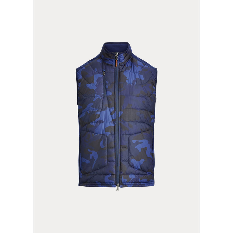 Camo Stretch Terry Golf Vest