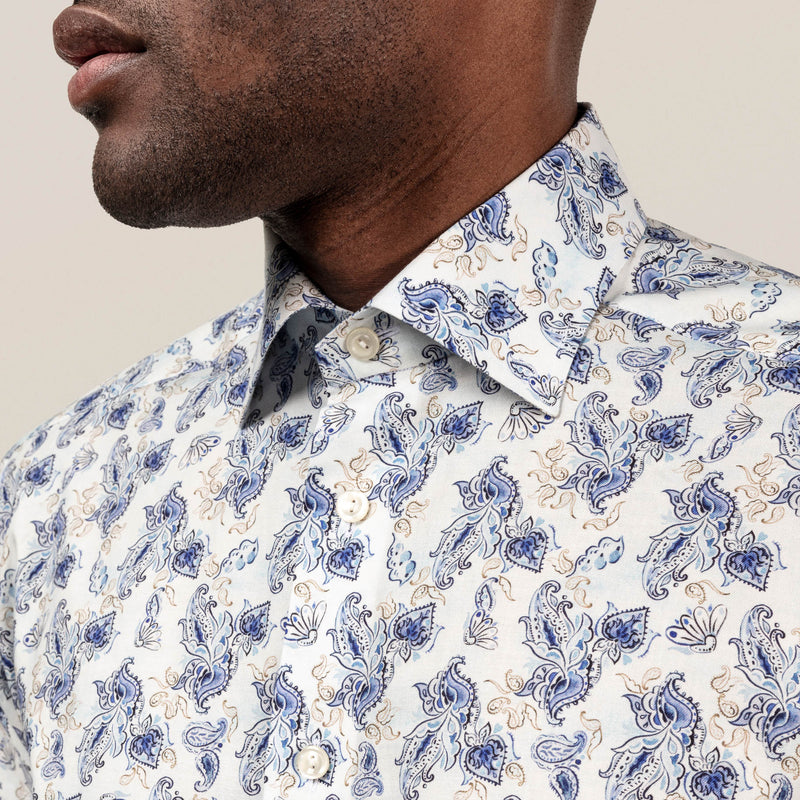 Watercolour Paisley Shirt