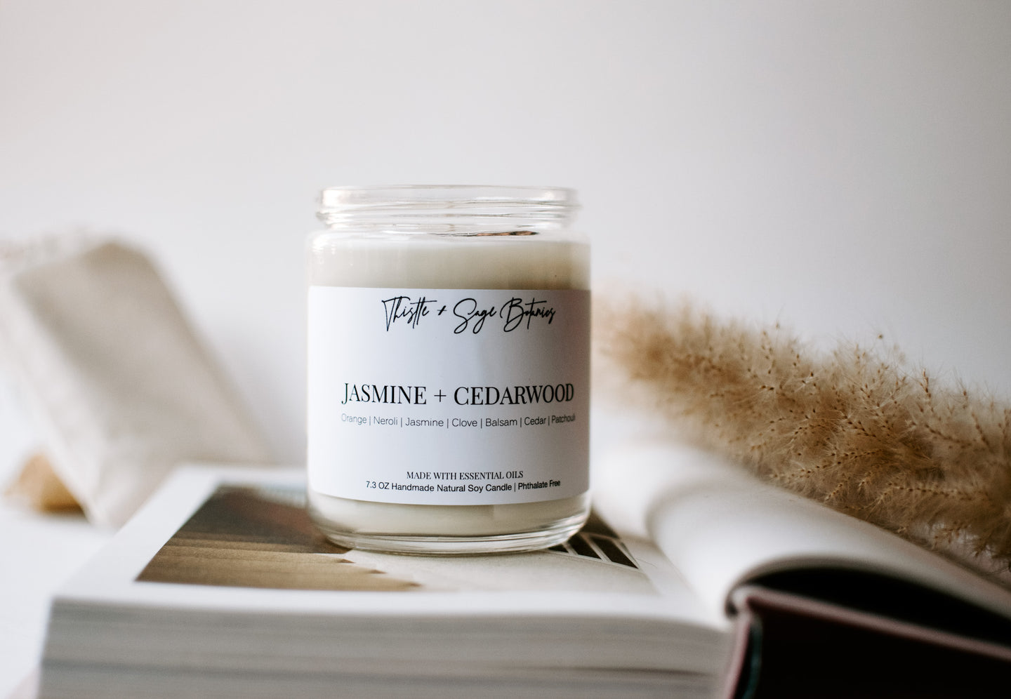 Vegan Candles + Perfumes