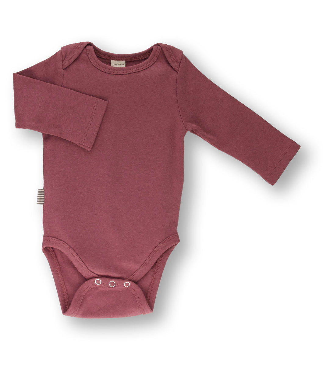 Fave Long Sleeve Onesie ~ Rose Brown