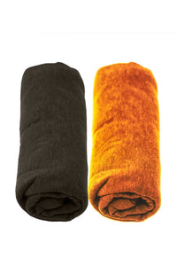 Hemp & Cotton Receiving Blankets - 2 Pack