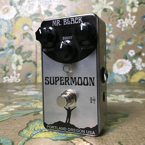 Mr. Black Supermoon Chrome Modulated Reverb