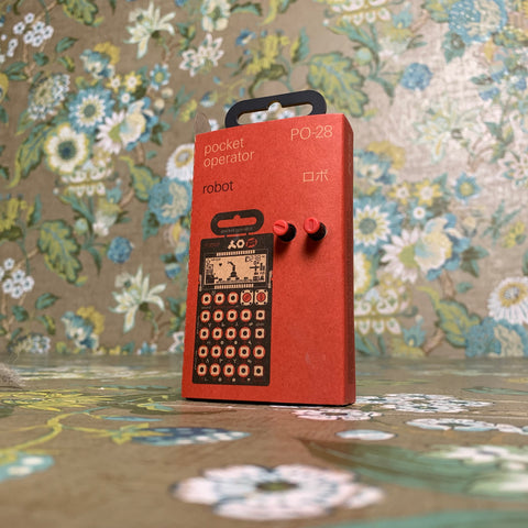 Teenage Engineering Pocket Operator PO-28 - Robot