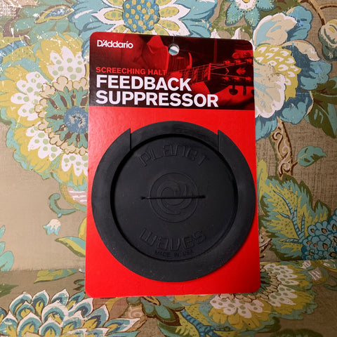 Screeching Halt Feedback Suppressor