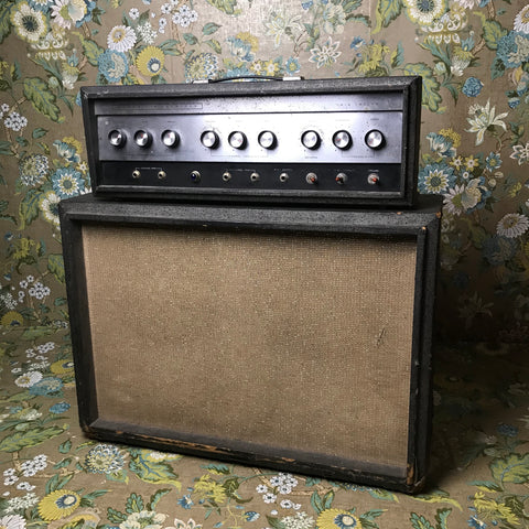 Sears Silvertone 1484 Twin Twelve Piggyback