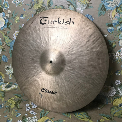 "Turkish 21"" Sweet Ride Classic"