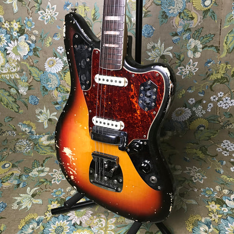 Fender Jaguar Sunburst 1968