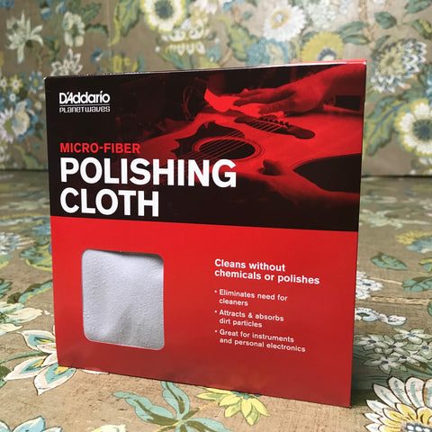 D'Addario Micro-Fiber Polish Cloth