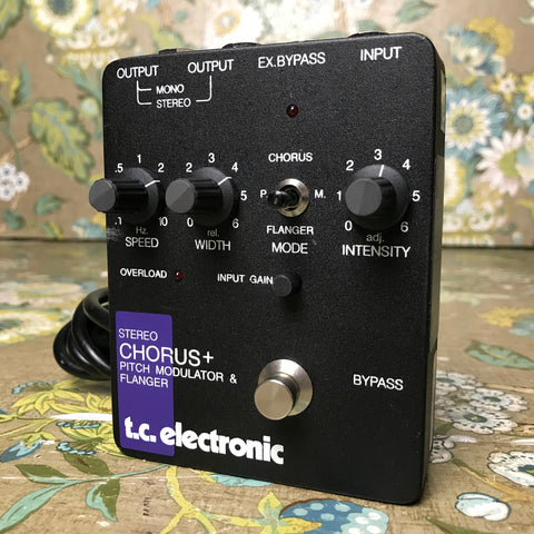T.C. Electronic Stereo Chorus + Pitch Modulator & Flanger