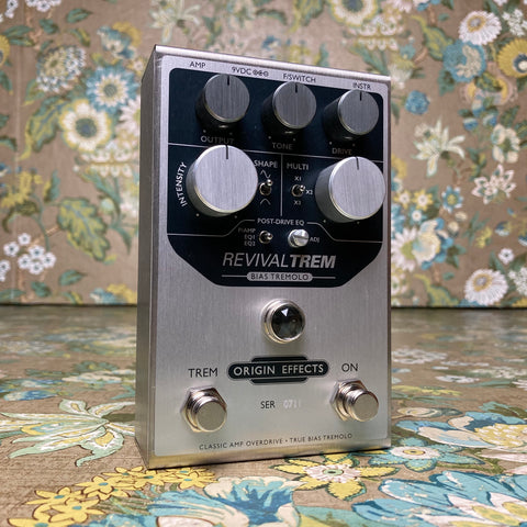 Origin Effects RevivalTrem Analog Bias Tremolo