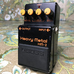 Boss HM-2 Heavy Metal (Black Label - Made In Japan)
