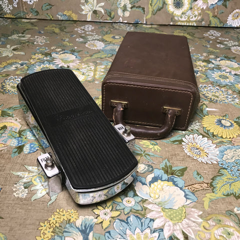 Fender Fuzz Wah Boost (70s) w/ Leather Case
