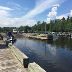Rainy Lake boat launch