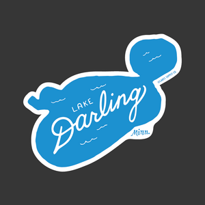 Lake Darling Sticker