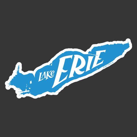 Lake Erie Sticker