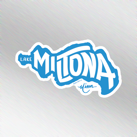 Lake Miltona Sticker