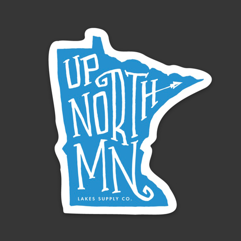 Up North MN Sticker