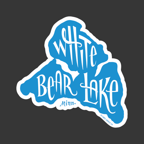 White Bear Lake Sticker