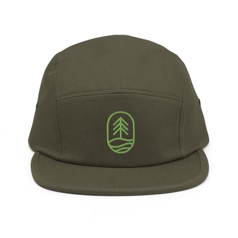 Fish Tree 5-Panel Hat
