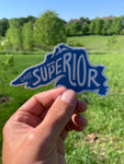 "Lake Superior 5"" Sticker"