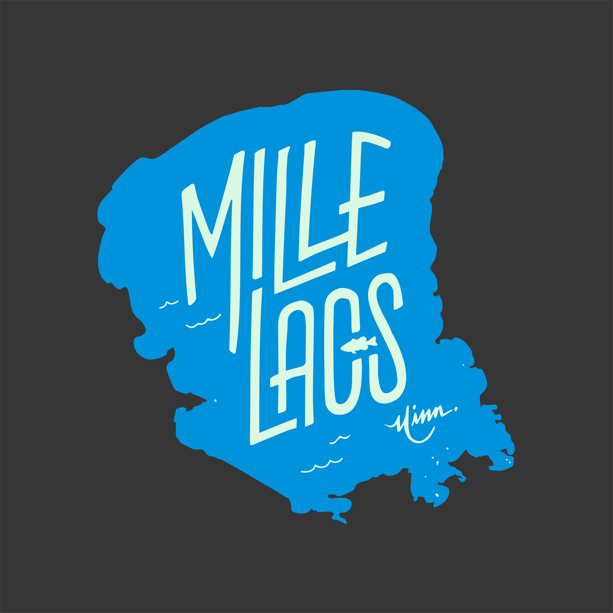 Mille Lacs Sticker