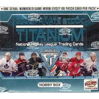 2002-03 Pacific Titanium Private Stock Hobby Box | Eastridge Sports Cards