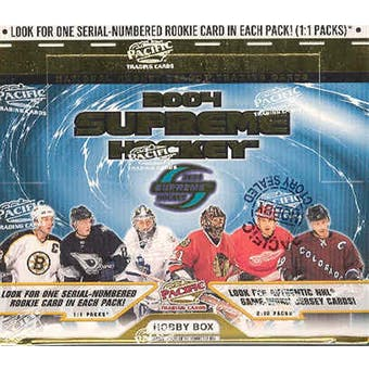 2003-04 Pacific Supreme Hockey Hobby Box | Eastridge Sports Cards