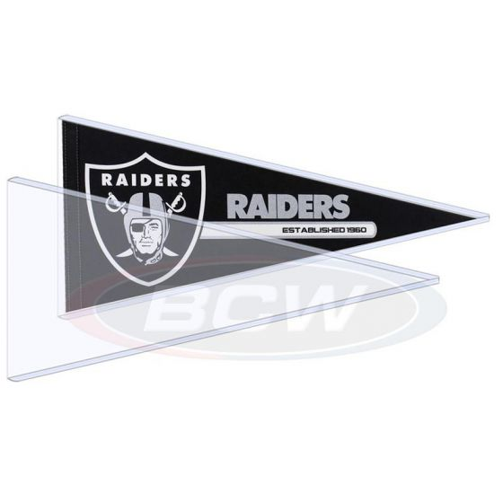 BCW Pennant Toploaders (10pk) | Eastridge Sports Cards
