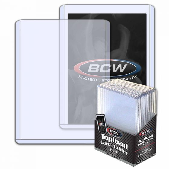 BCW 108pt Top Loaders - 10 pack | Eastridge Sports Cards