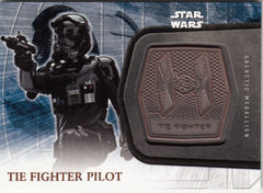 2016 Star Wars The Force Awakens Series Two Medallions #11 TIE Fighter Pilot | Eastridge Sports Cards
