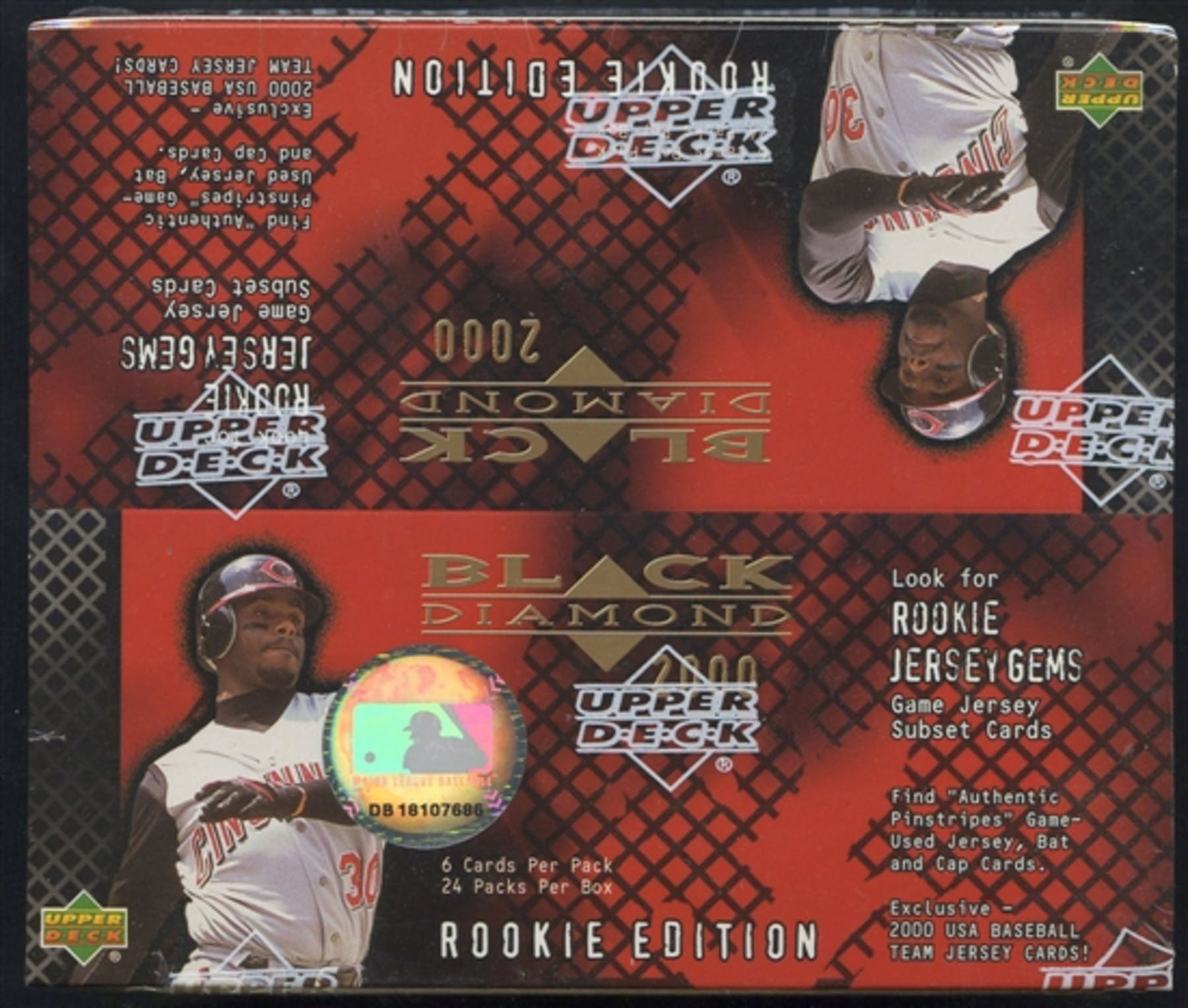 2000 Upper Deck Black Diamond Rookie Edition Baseball Retail Box | Eastridge Sports Cards