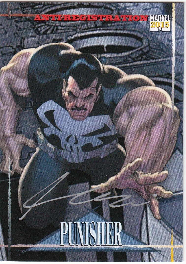 2015 Fleer Retro Marvel Skybox Universe Autographs #14 Ariel Olivetti - Punisher | Eastridge Sports Cards