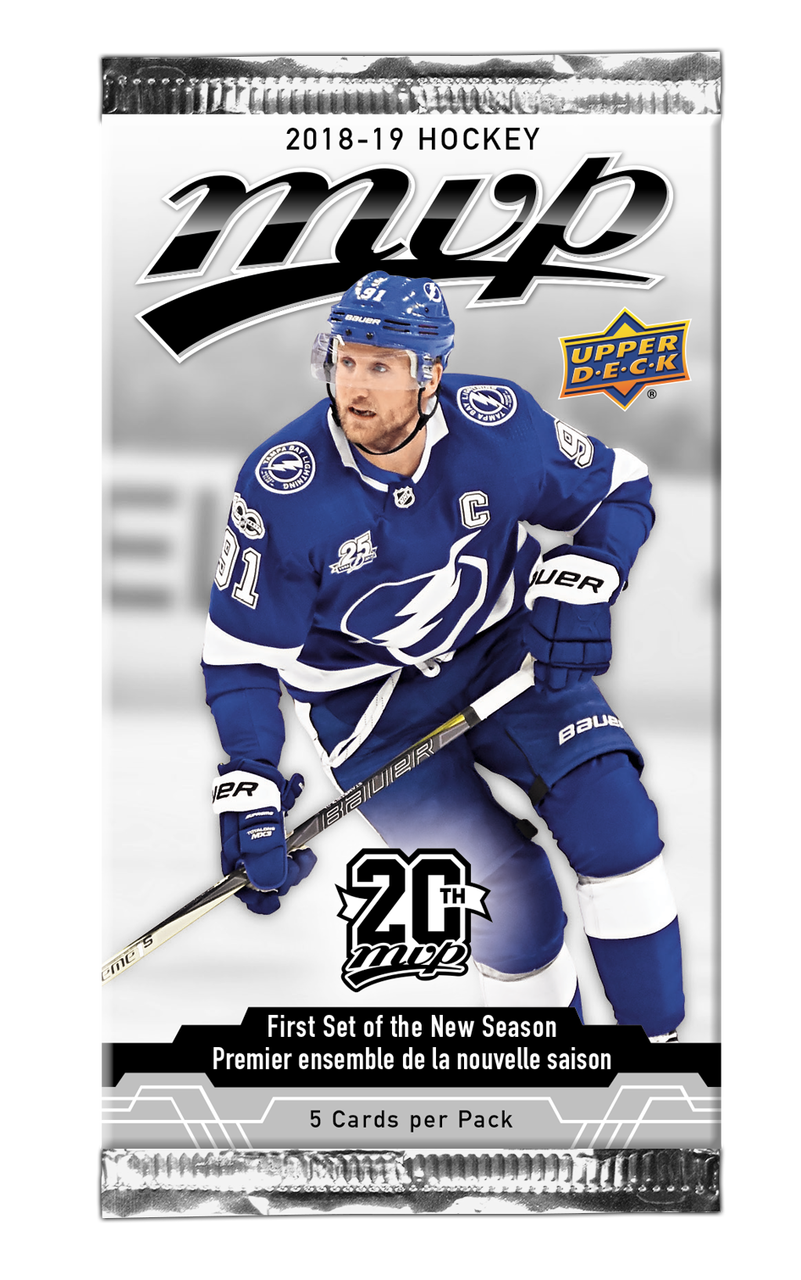2018-19 Upper Deck MVP Hockey Hobby Pack | Eastridge Sports Cards