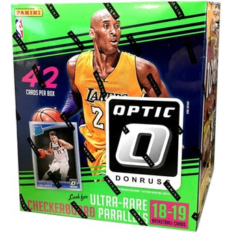 2018-19 Panini Donruss Optic Basketball Mega Box | Eastridge Sports Cards