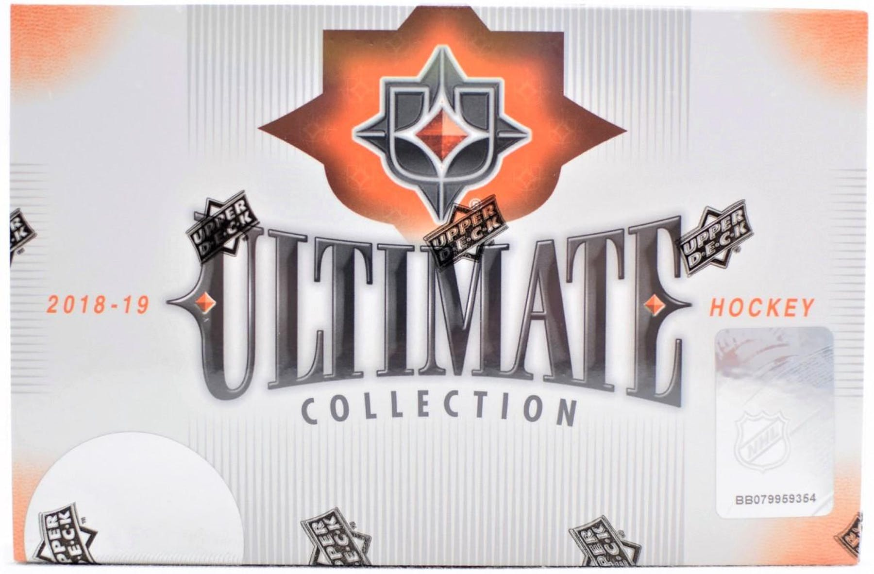 2018-19 Upper Deck Ultimate Collection Hockey Hobby Box | Eastridge Sports Cards