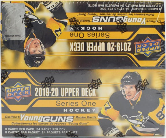 2019-20 Upper Deck Series 1 Hockey Retail Box | Eastridge Sports Cards