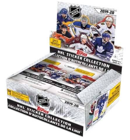 2019-20 Topps NHL Hockey Sticker Collection Box | Eastridge Sports Cards
