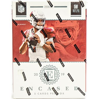 2019 Panini Encased Football Hobby Box | Eastridge Sports Cards