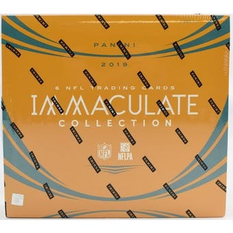 2019 Panini Immaculate Football Hobby Box | Eastridge Sports Cards