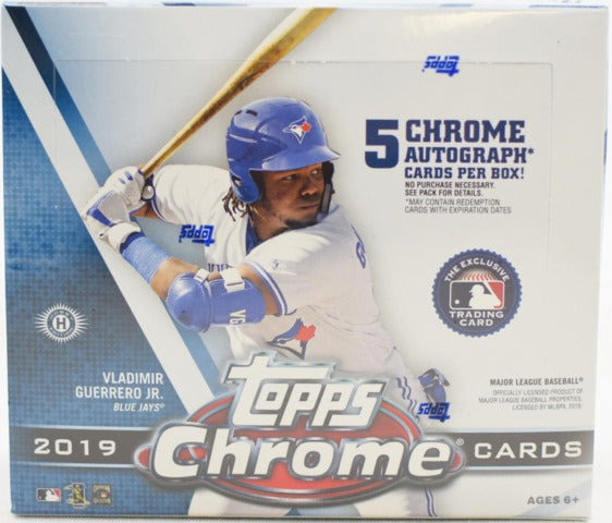 2019 Topps Chrome Baseball Jumbo Box | Eastridge Sports Cards