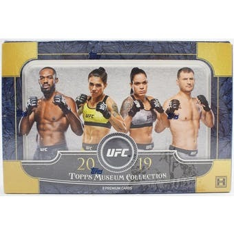2019 Topps UFC Museum Collection Hobby Box | Eastridge Sports Cards