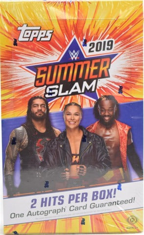 2019 Topps WWE SummerSlam Wrestling Hobby Box | Eastridge Sports Cards