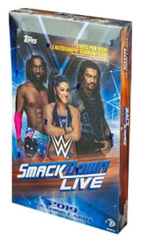 2019 Topps WWE Smack Down Live Hobby Box | Eastridge Sports Cards