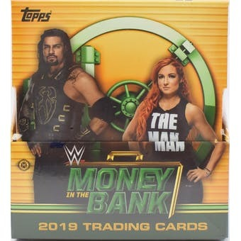 2019 Topps WWE Money In The Bank Hobby Box | Eastridge Sports Cards
