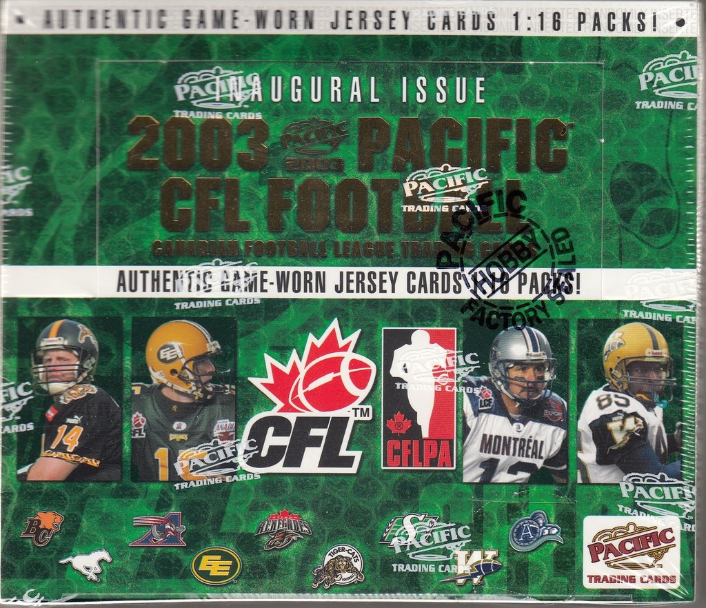 2003 Pacific CFL Football Hobby Box | Eastridge Sports Cards