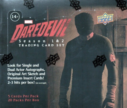 2018 Upper Deck Marvel Daredevil Season 1 & 2 Hobby Pack | Eastridge Sports Cards